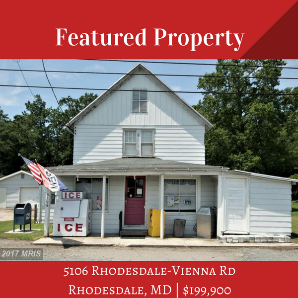Commercial Listing | 5106 Rhodesdale-Vienna Rd, Rhodesdale, MD | Powell Realtors | Eastern Shore Real Estate