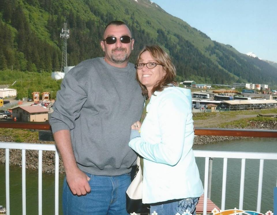 Heather Kramer and Rob Kramer in Alaska